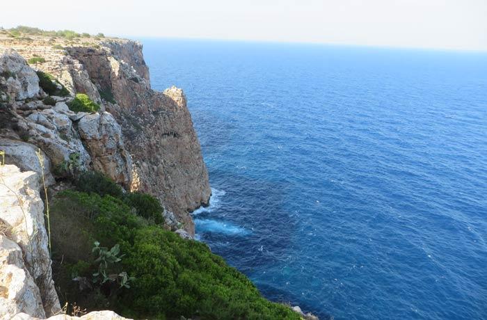 Acantilados de la Mola que ver en Formentera