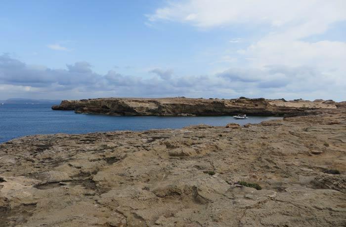 Paisaje lunar de Can Marroig que ver en Formentera