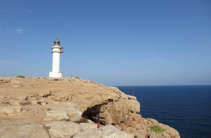 Faro del Cap de Barbaria que ver en Formentera