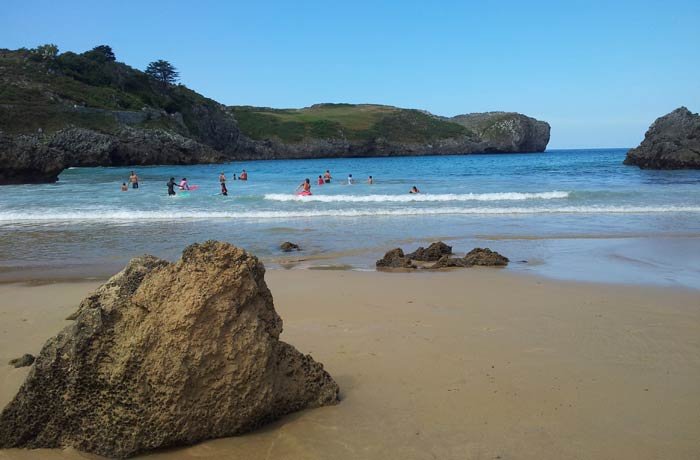 Playa de Borizu en Celorio