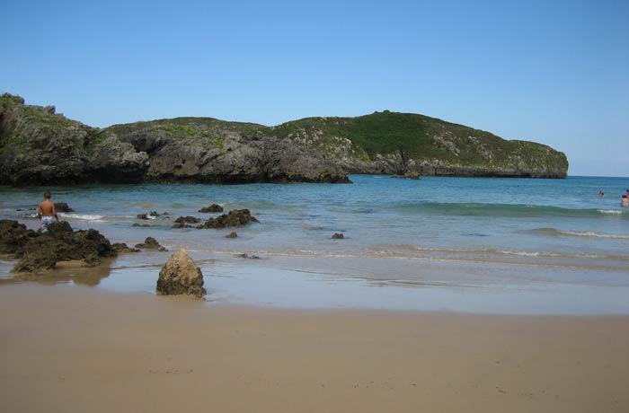 Otra vista de la playa de Borizu