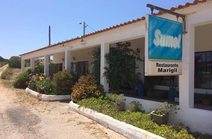 Restaurante Marigil comer en el Algarve