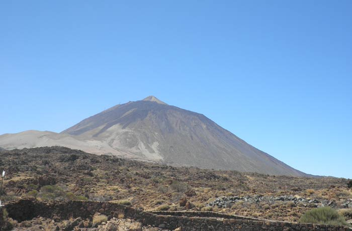 Vista del Teide qué ver en Tenerife