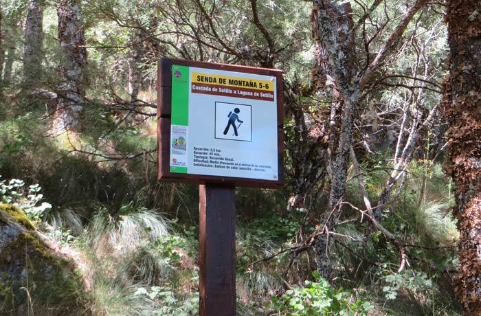 Unión de las rutas de la Cascada de Sotillo y la Laguna de Sotillo